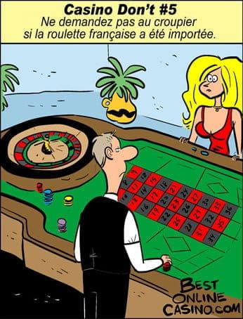 Casino don't N⁰ 5: Roulette française