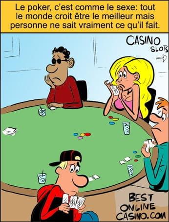 Jouer au poker sans savoir