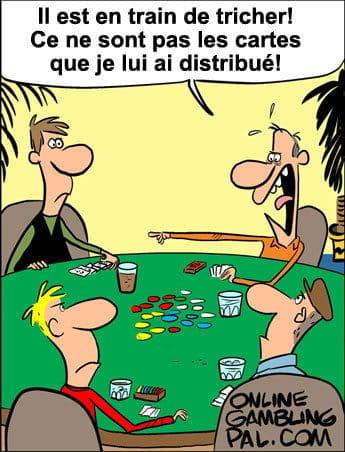 La triche au poker