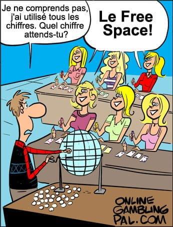 Les blondes jouent au bingo