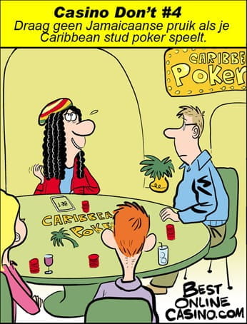Casino don't #4: Caribbean stud poker