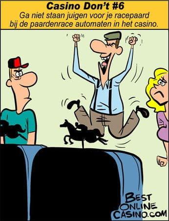 Casino don't N⁰ 6: juigen voor je racepaard