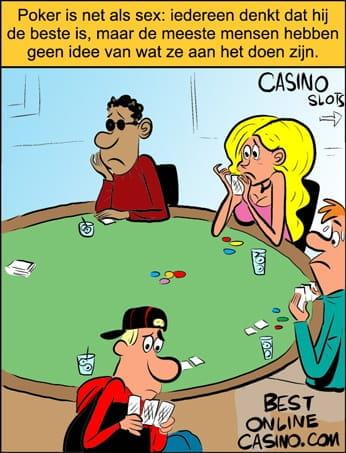 Poker spelen zonder een idee