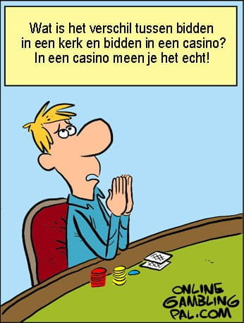 Het verschil tussen een kerk en een casino