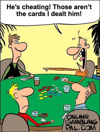 Cheating with poker