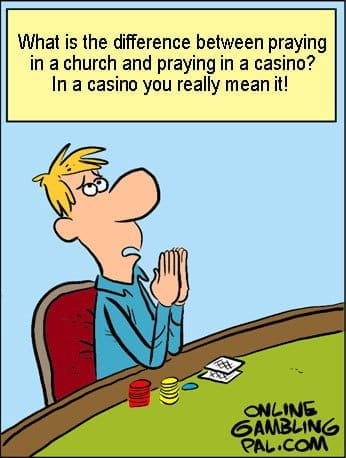 The difference between a casino and a church