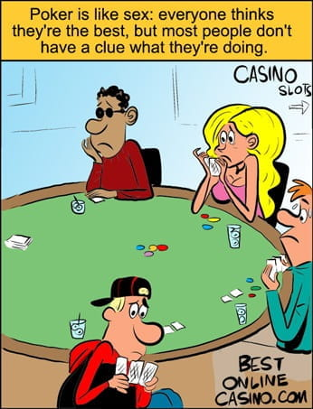 Playing poker without a clue