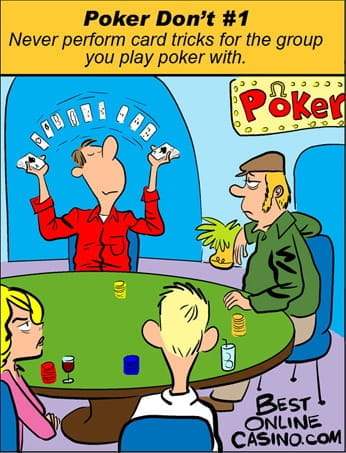 poker jokes short