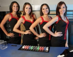 Live dealer girls