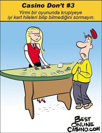 Casino don't #3: kart hileleri