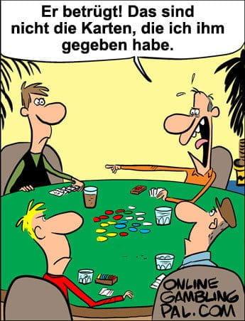 Betrug beim Poker