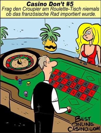 Casino don't N⁰ 5:  Französisches Rad
