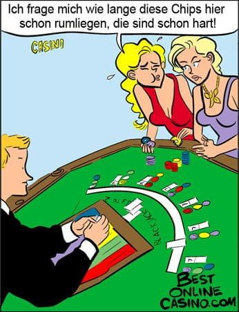 Casinochips versus Kartoffelchips