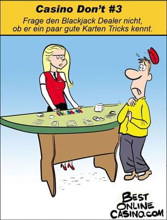 Casino Don't #3: Karten Tricks