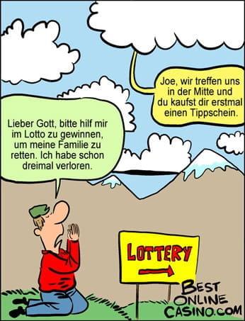 Lotterie-Gebet