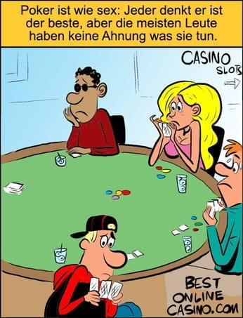 Poker spielen ohne ein Ahnung davon zu haben
