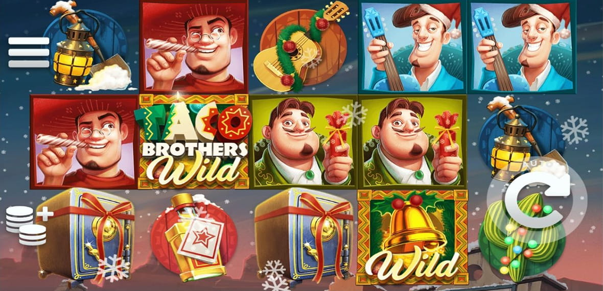 ELK Studios Taco Brothers Saving Christmas